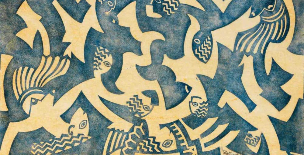 Cyril Edward Power - Matriarchy (Coppel Cep 21), circa 1931 (Detail)