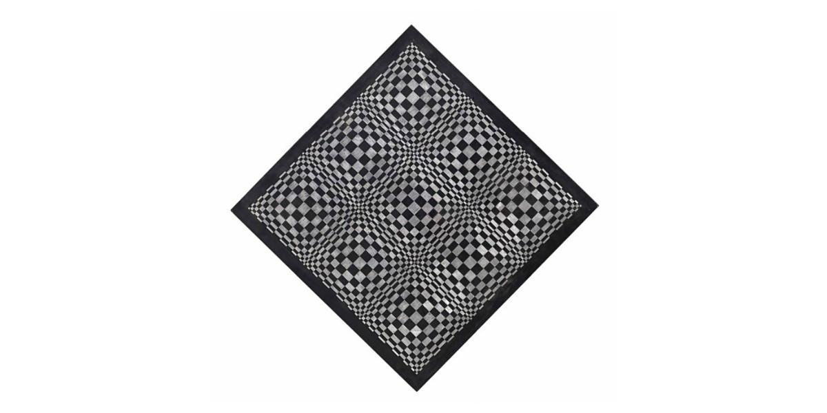Dadamaino - Oggetto ottico dinamico, 1962-63