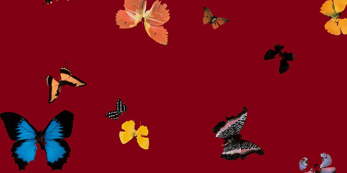 Damien Hirst - Big Love (Detail), 2010