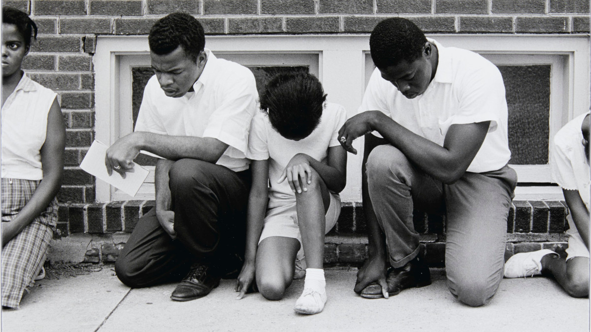 Danny Lion - Cairo, Illinois, from Memories of the Southern Civil Rights Movement, 1962 (Detail)