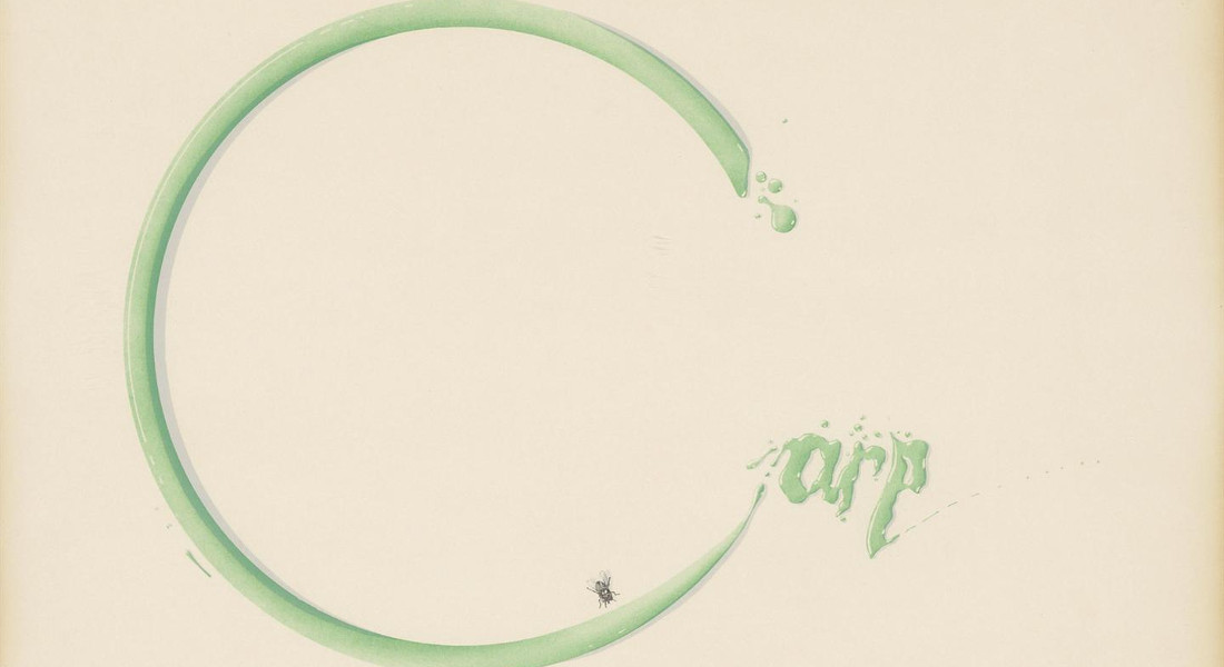 Ed Ruscha - Carp With Fly, 1969 (Detail)