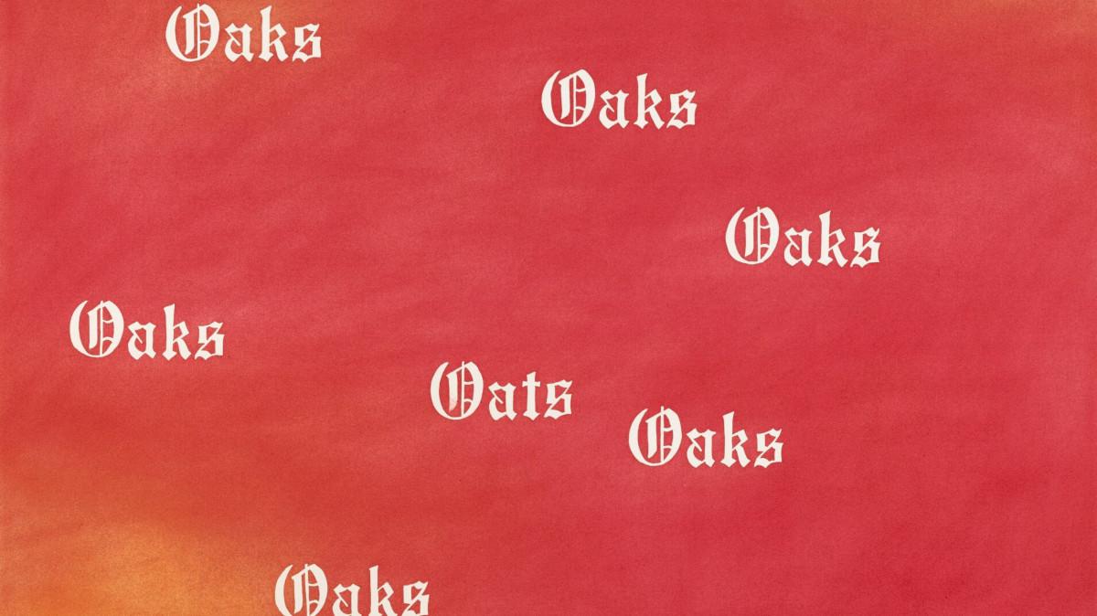 Ed Ruscha - Oaks, Oats, 1977 (detail)