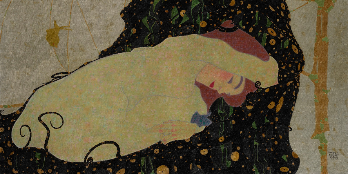 Egon Schiele - Danae, 1909 (details)