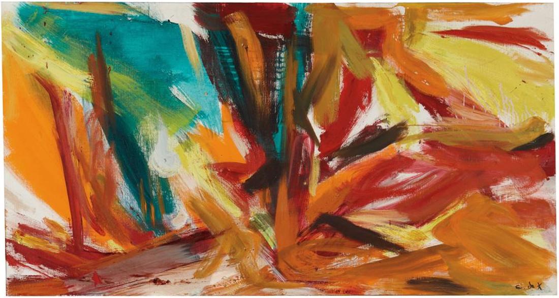 Elaine De Kooning - Bullfight, 1961 (Detail)