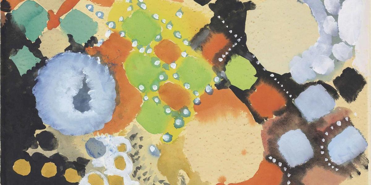 Ernst Wilhelm Nay - Untitled, 1955 (Detail)