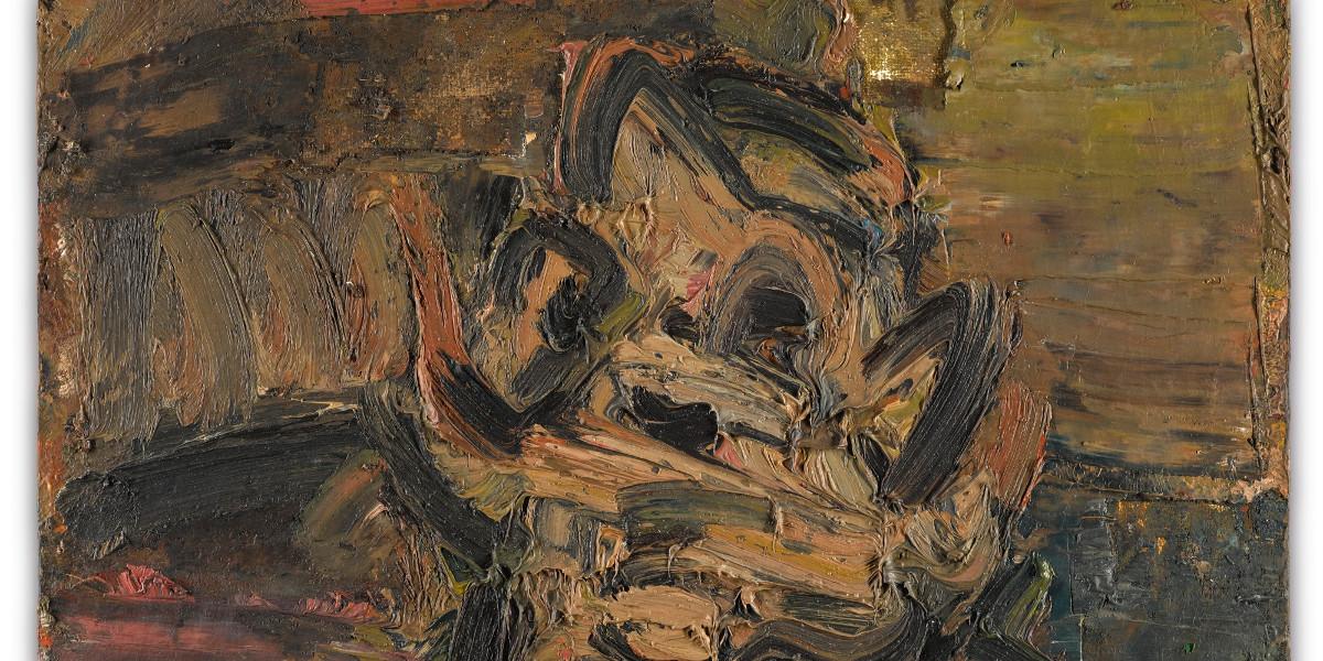 Frank Auerbach - Head Of Jym III, 1981 (detail)