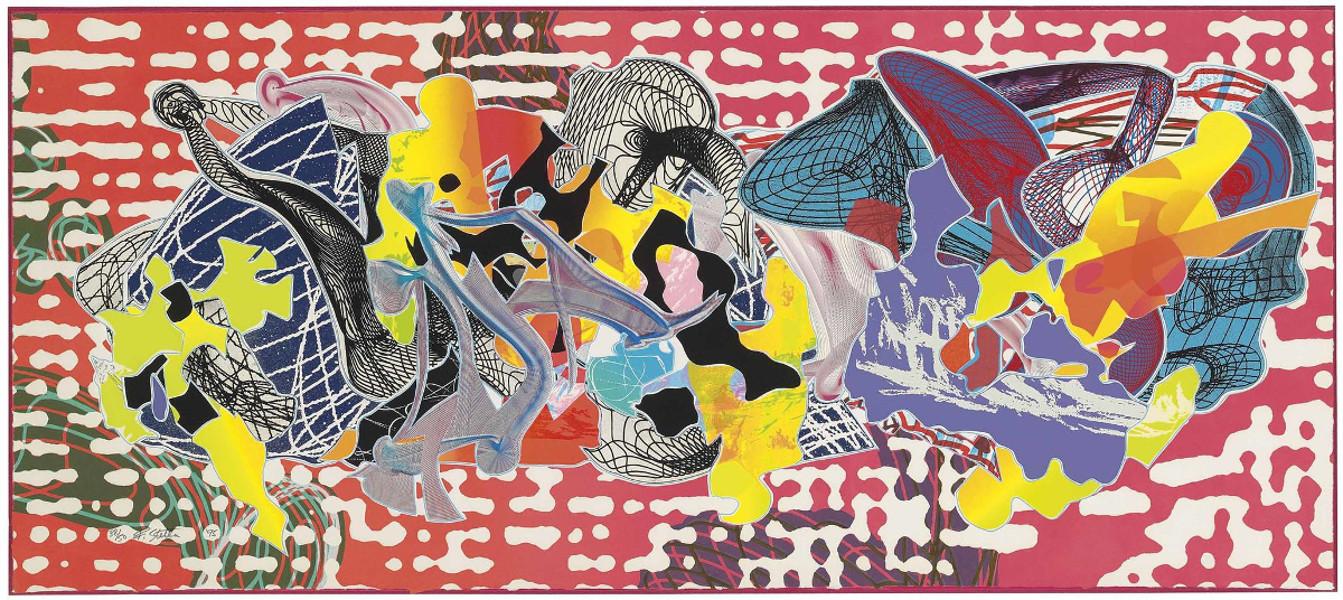 Frank Stella - Libertina, From Imaginary Places,1995 (Detail)
