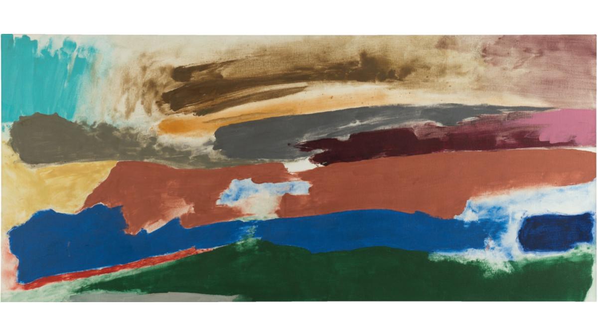 Friedel Dzubas - Far Land, 1986 (Detail)