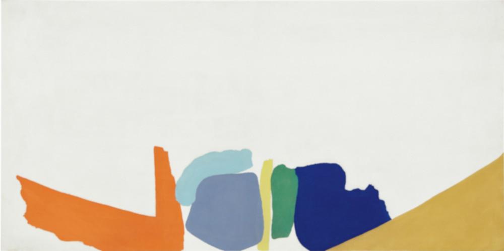 Friedel Dzubas - Untitled, 1965 (Detail)