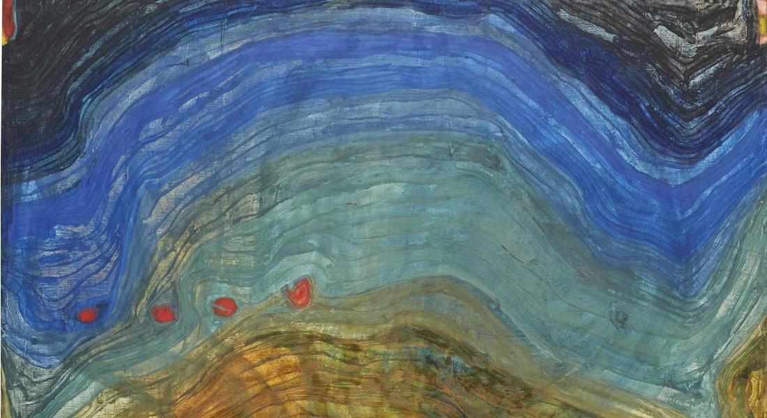 Friedensreich Hundertwasser - Montagne, 1956 (Detail)