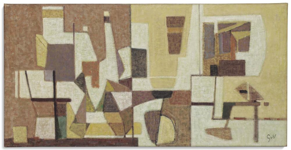 Geer Van Velde - Untitled, circa 1953 (Detail)