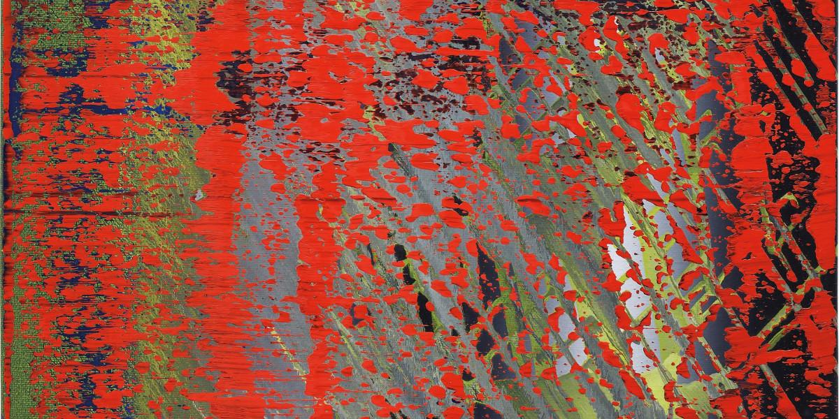 Gerhard Richter - Abstraktes Bild (682-4), 1988 (detail)