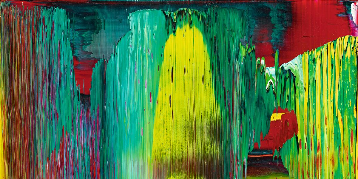 Gerhard Richter - Abstraktes Bild (843-4), 1997 (detail)