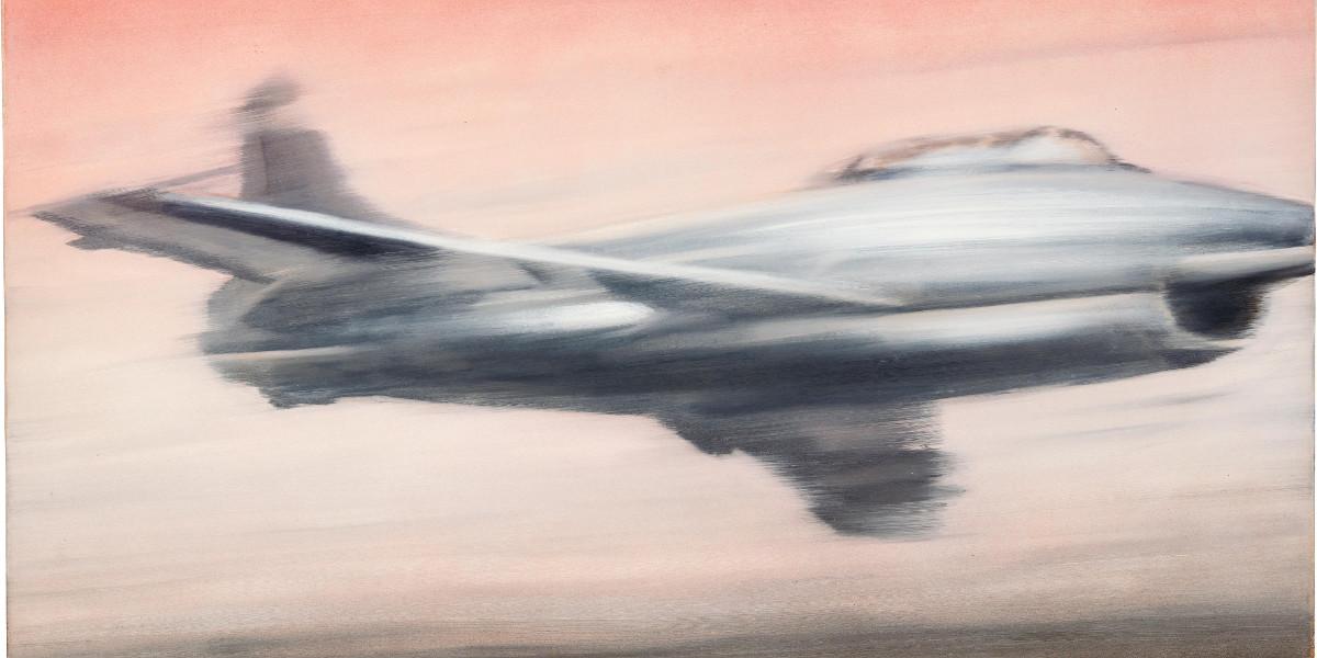 Gerhard Richter - Dusenjager, 1963 (detail)