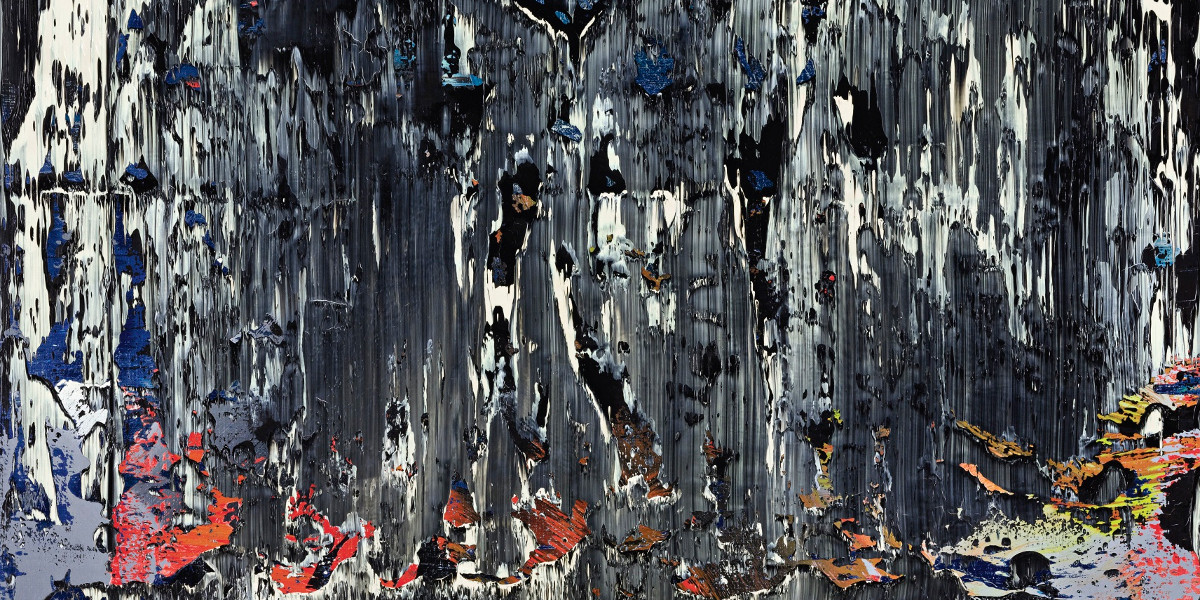 Gerhard Richter - Split (Rubble), 1989 (detail)