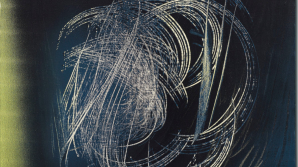 Hans Hartung - T1967-H16, 1967 (detail)