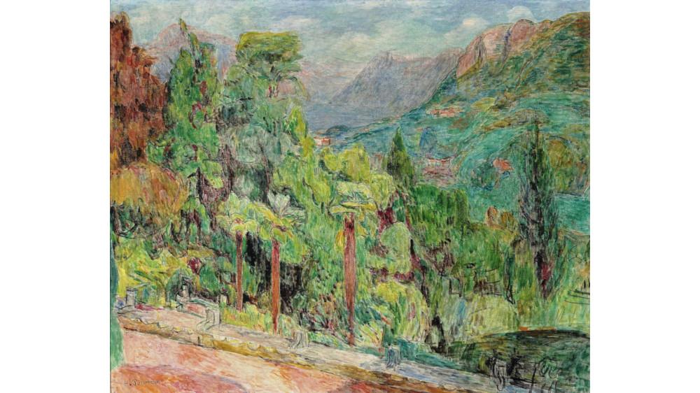 Hans Purrmann - Garden Of Casa Camuzzi, 1949 (Detail)