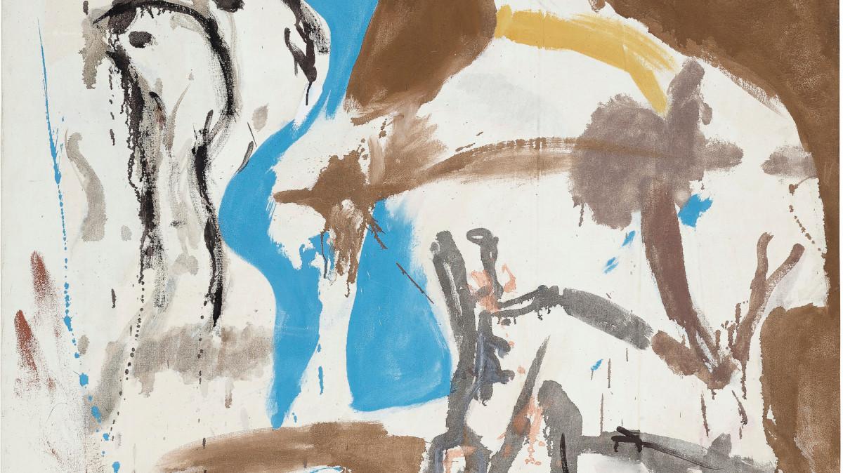 Helen Frankenthaler - Cave Memory, 1959 (Detail)