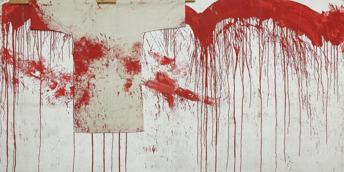 Hermann Nitsch - Untitled, 1984 (detail)