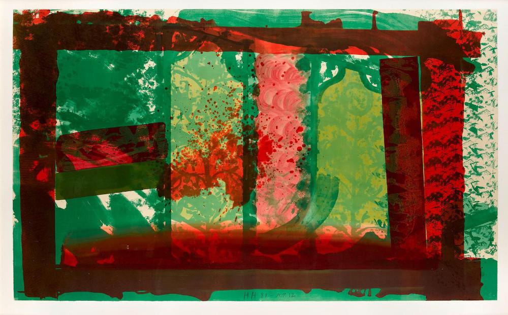 Howard Hodgkin - Bleeding (H. 67) ,1981-1982 (Detail)