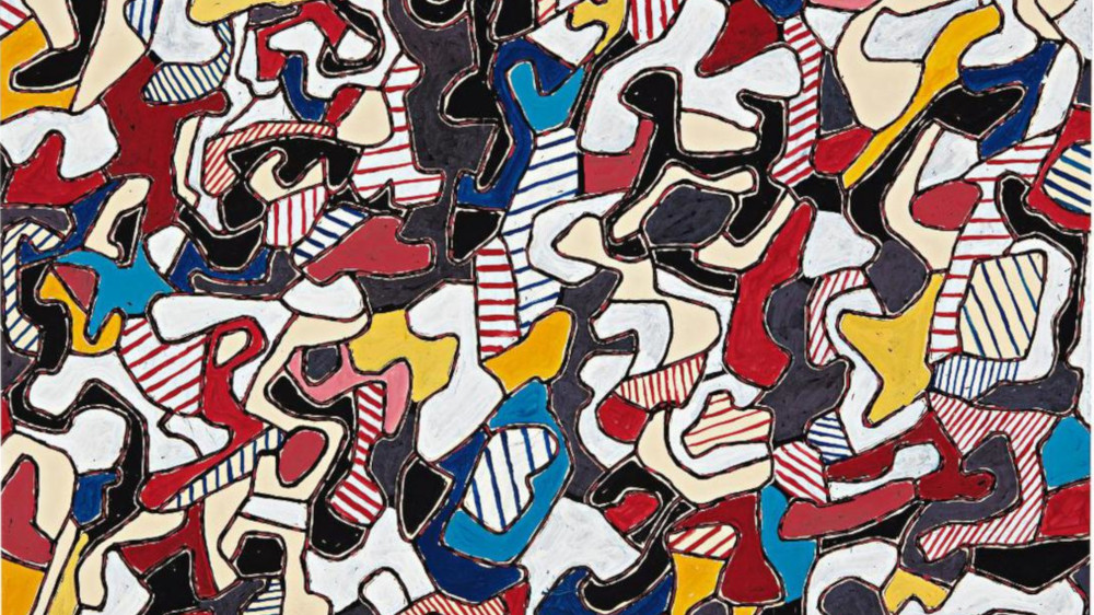 Jean Dubuffet - Conjectures, 1964 (Detail)