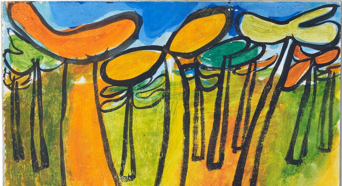 Jean Dubuffet - Pinede, 1943 (Detail)