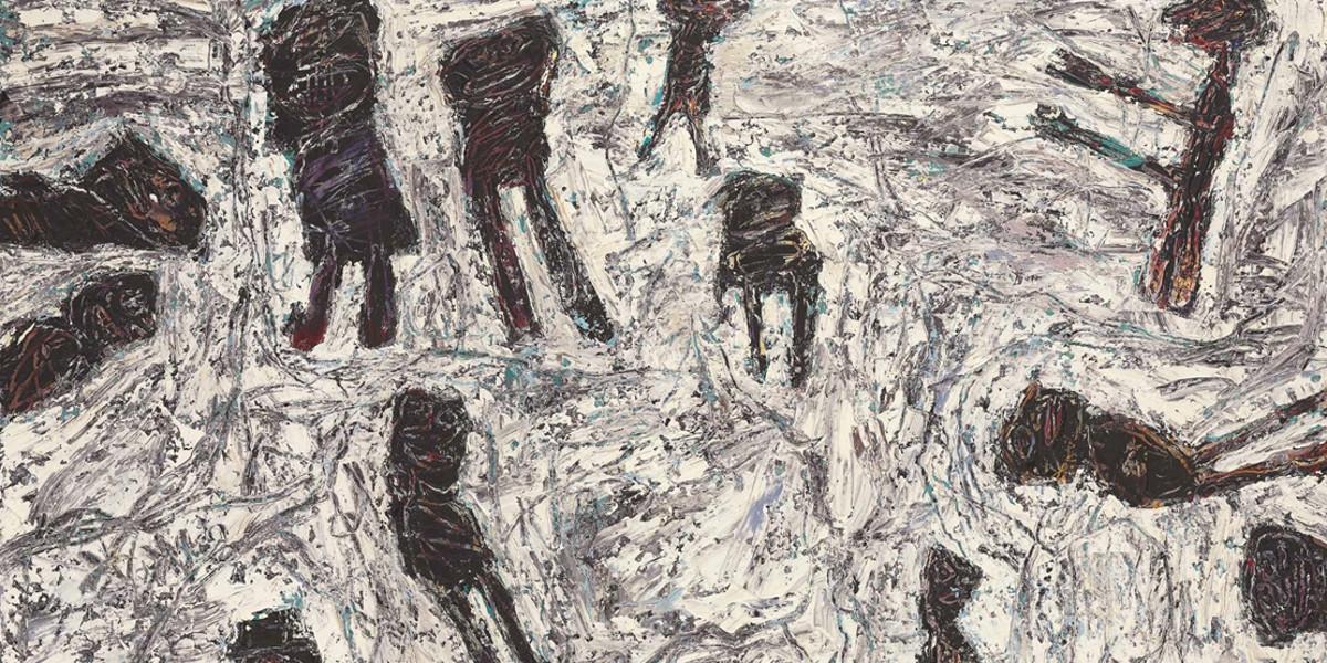 Jean Dubuffet - Trime Burine, 1961 (detail)