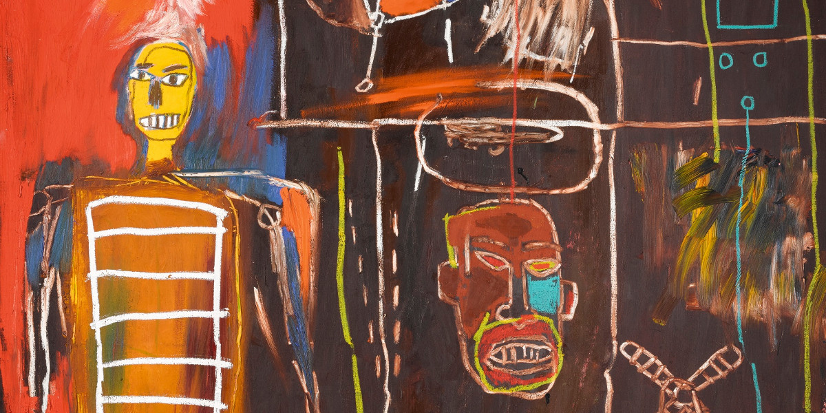 Jean-Michel Basquiat - Air Power, 1984 (detail)