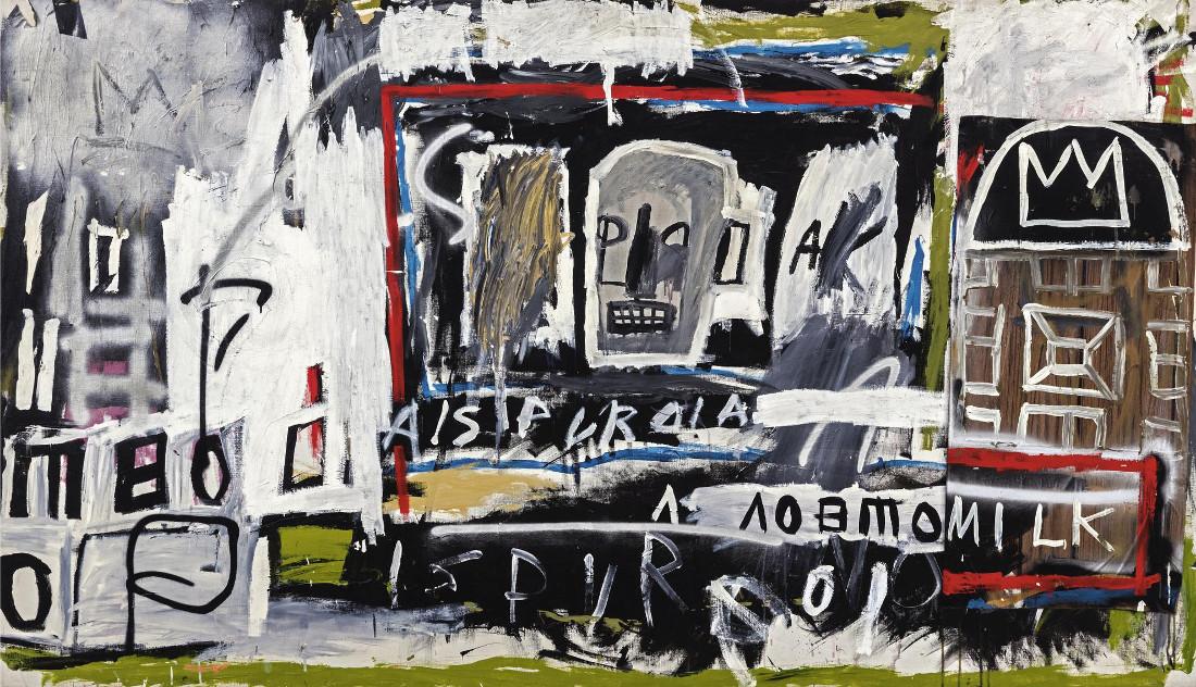 Jean-Michel Basquiat - New York, New York, 1981 (Detail)