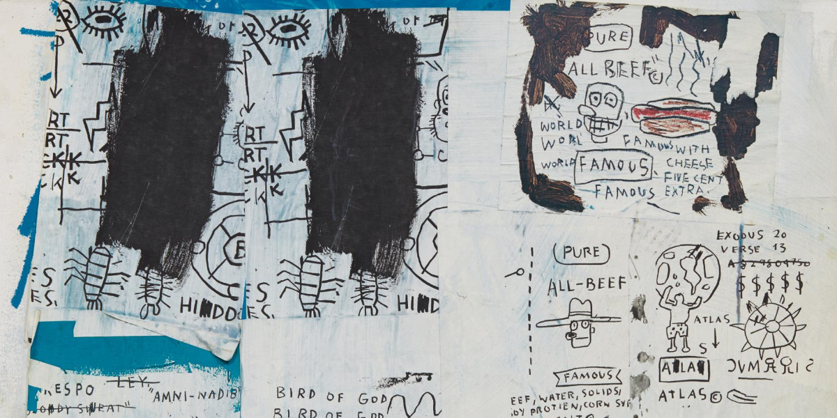 Jean-Michel Basquiat - Untitled, 1983 (detail)