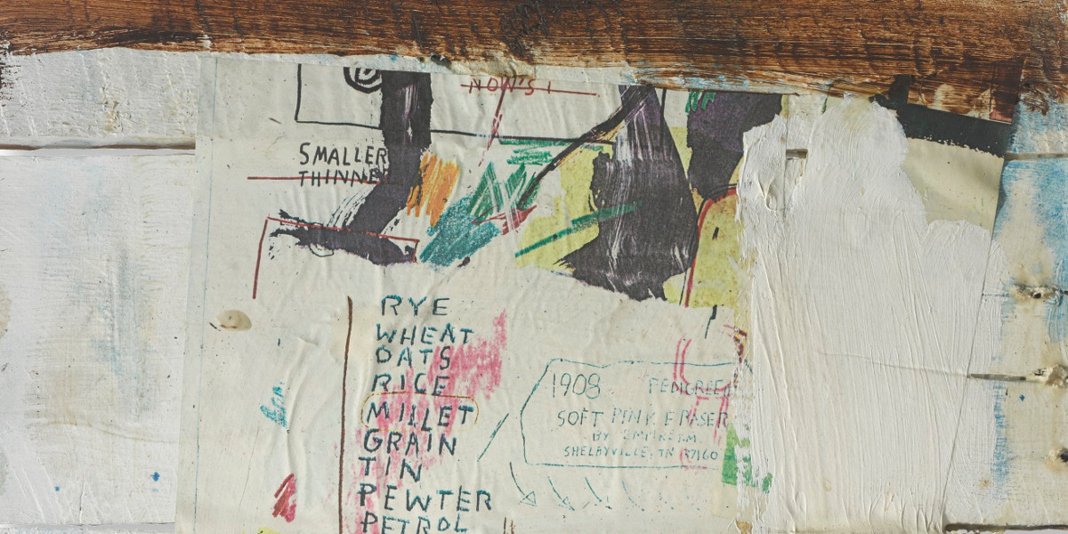Jean-Michel Basquiat - Untitled, 1985 (detail)