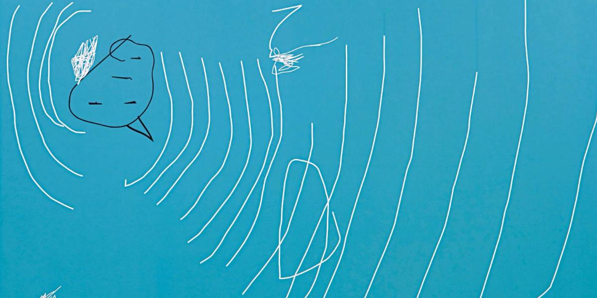 Jeff Elrod - Big Blue (Detail), 2001