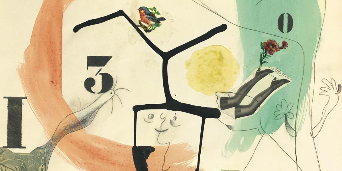 Joan Miro - Metamorphoses, 1936 (detail)