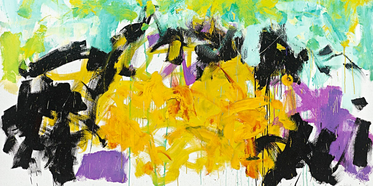 Joan Mitchell - Another, 1980 (detail)