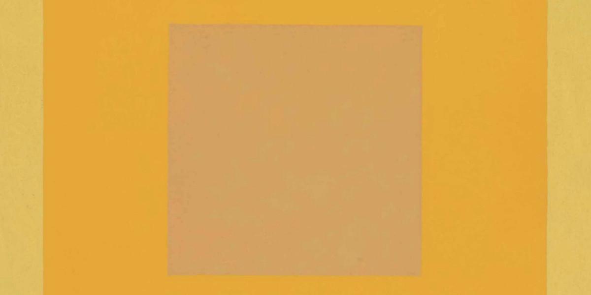 Josef Albers - Homage to the Square - Orange Tone