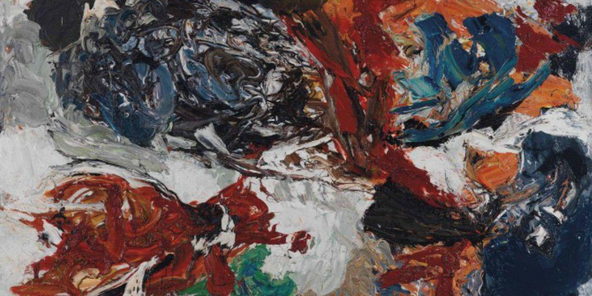 Karel Appel - Tempeste Flambant comme un Insect (Detail), 1960