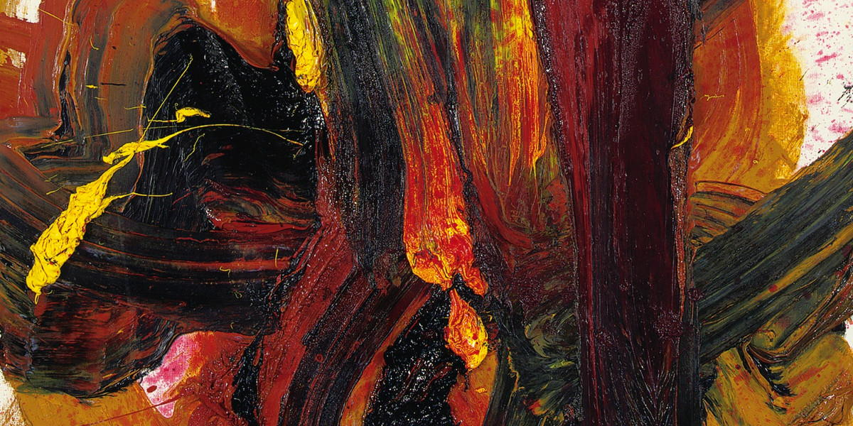 Kazuo Shiraga - Tojusen (Detail), 1989