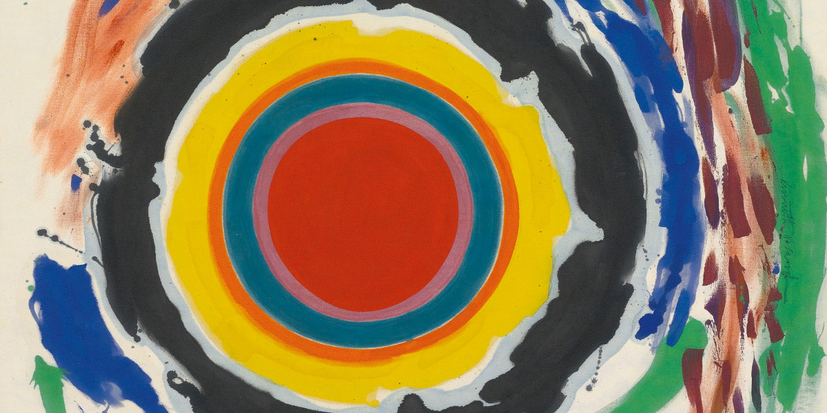 Kenneth Noland - Heat (Detail), 1958
