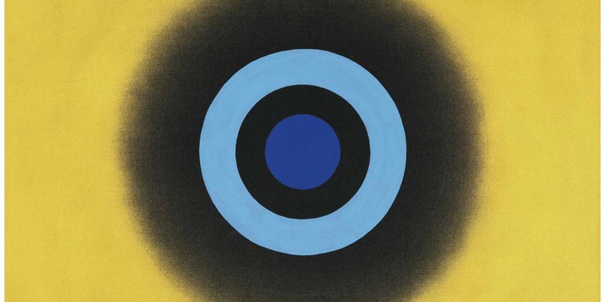 Kenneth Noland - Mysteries Oro, 2000 (Detail)