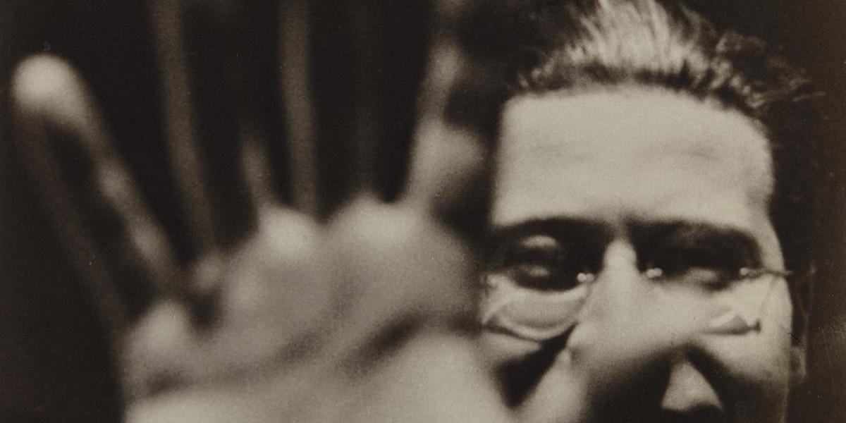 Laszlo Moholy-Nagy - Self-Portrait, 1925 (detail)