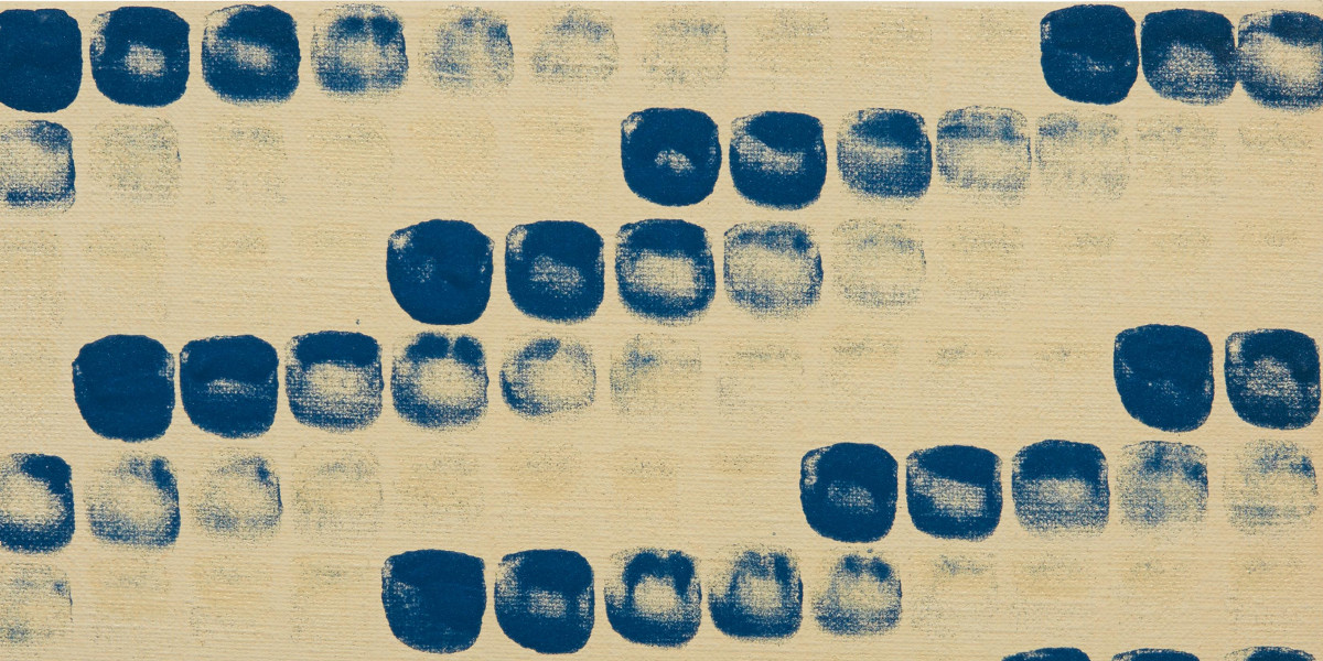 Lee Ufan - From Point No. 78023 (Details), 1978