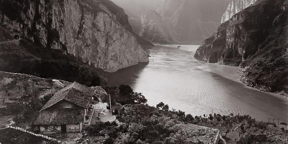 Linda Butler - Yangtze Overlook, Xiling Gorge (detail)