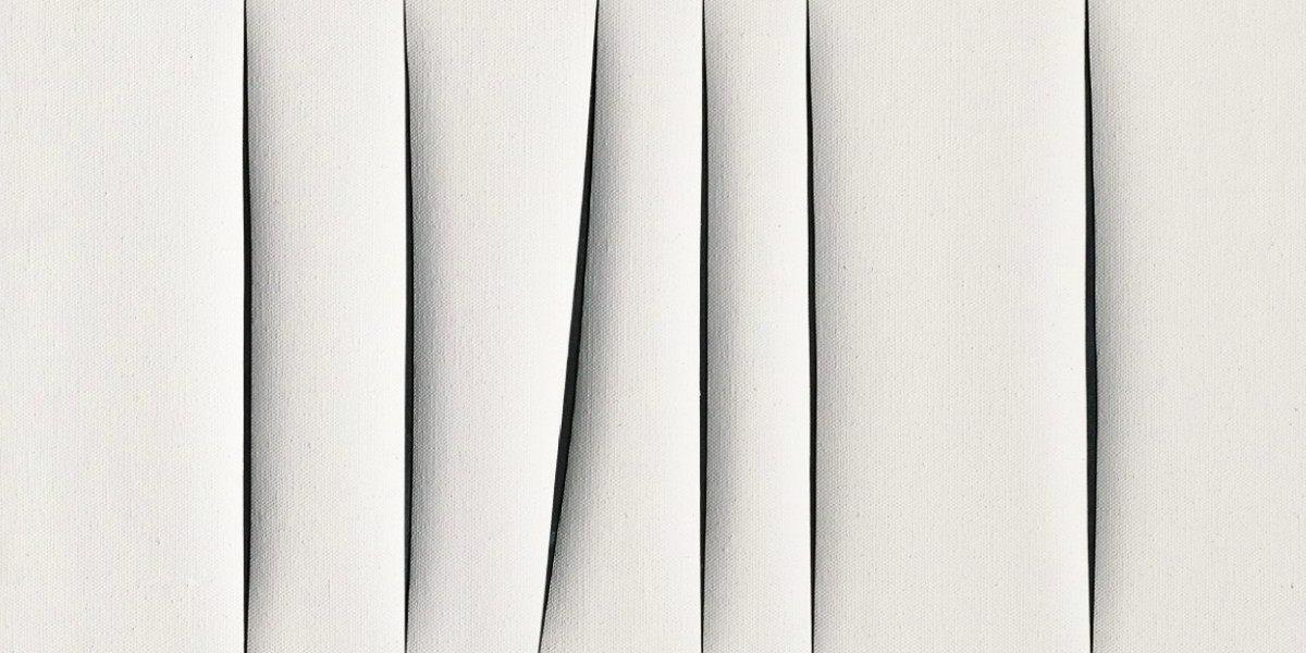 Lucio Fontana - Concetto spaziale, Attese (Detail), 1967