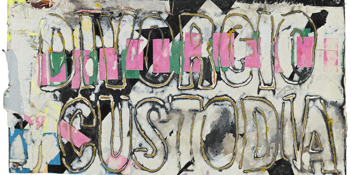 Mark Bradford - Untitled, 2006 (Detail)