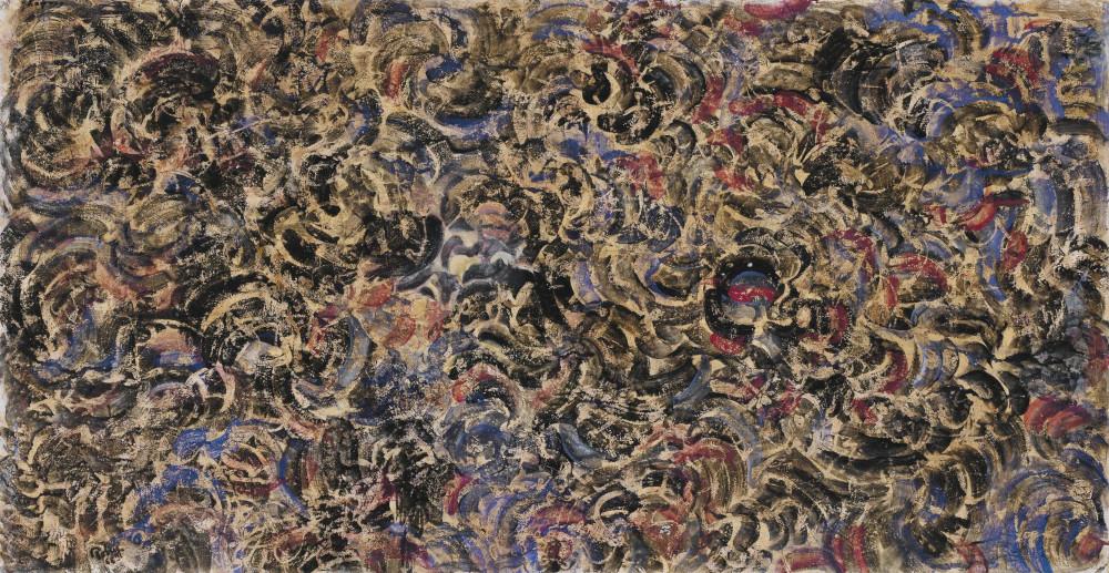 Mark Tobey - Tumult, 1966 (Detail)