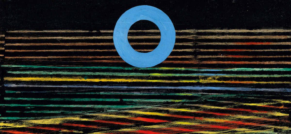 Max Ernst - Mer Et Soleil, circa 1957 (Detail)