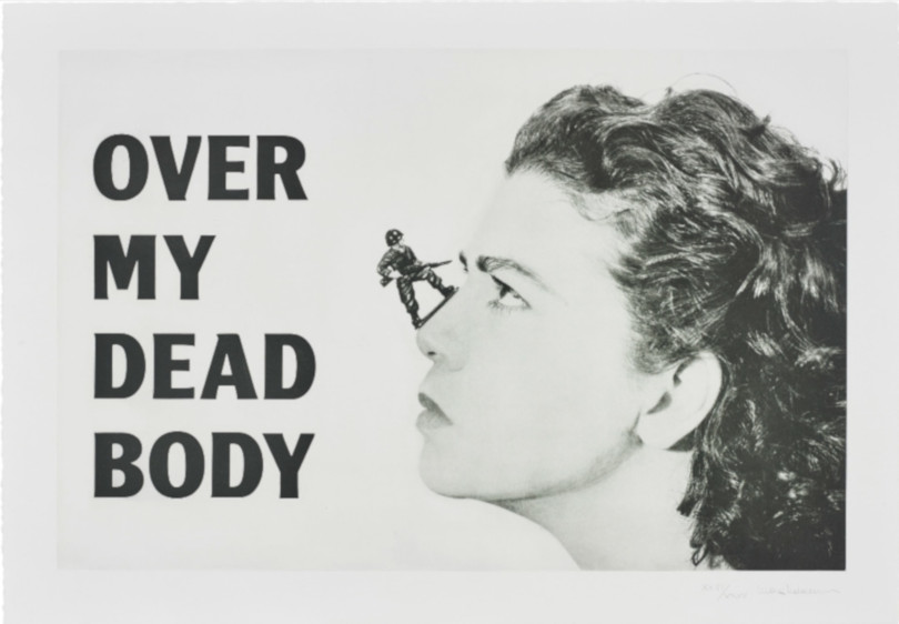 Mona Hatoum - Over My Dead Body, From Love It Or Leave It, 2005 (Detail)