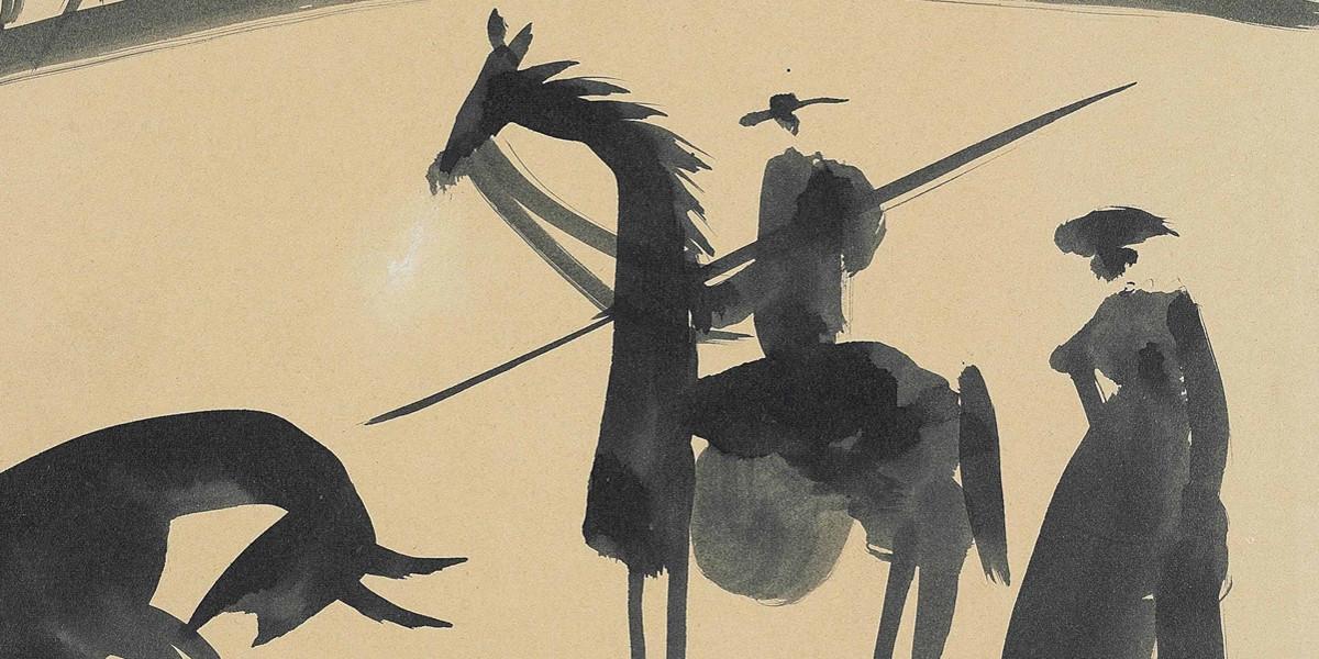 Pablo Picasso - Avant la pique, 1959 (detail)