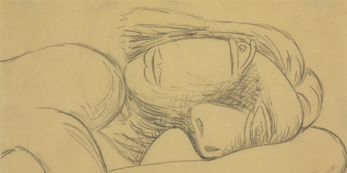 Pablo Picasso - Femme en buste (Marie-Therese), 1939 (detail)