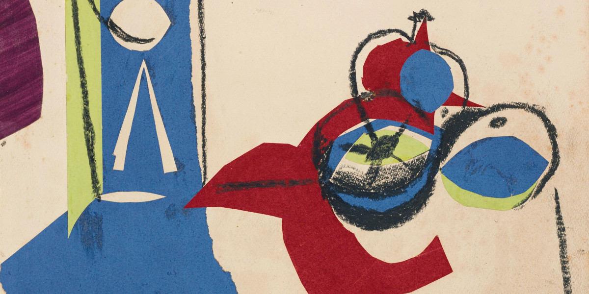 Pablo Picasso - Nature morte aux fruits, 1945